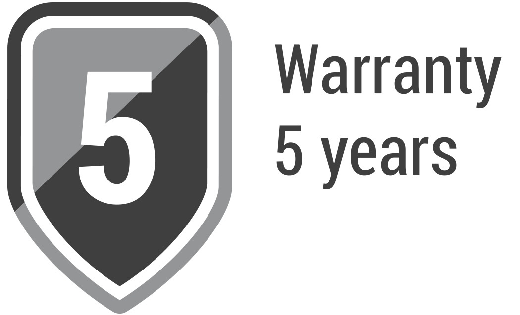 5 years of warranty on solid fuel boilers